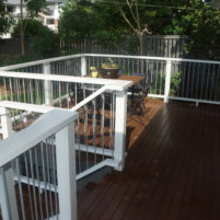Entrance deck renovation, Keperra