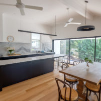 Renovation & deck extension, Clayfield